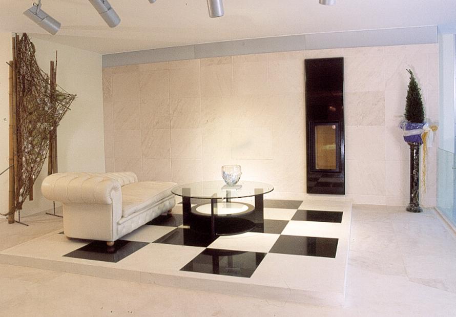 luxury bath spa design interior design livingroom wall installation in beige limestone - Spa Design Images
